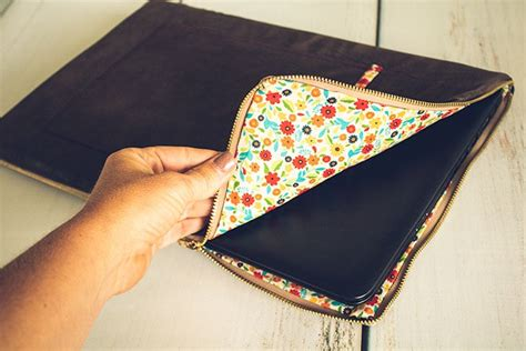 Diy Laptop Case With Zipper And Padding