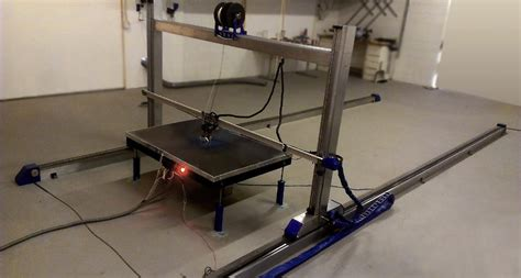 Diy Large 3d Printer Bed Construction Site