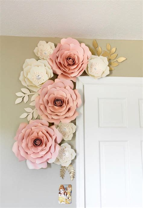 Diy Large Paper Flower Wall Decor