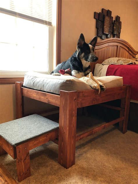 Diy Large Raised Dog Bed