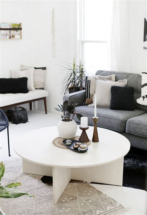 Diy Large Round Coffee Table