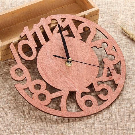 Diy Large Round Wall Clock