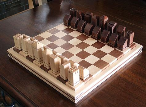 Diy Large Wood Chess Pieces