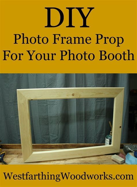 Diy Large Wood Photo Frame Prop