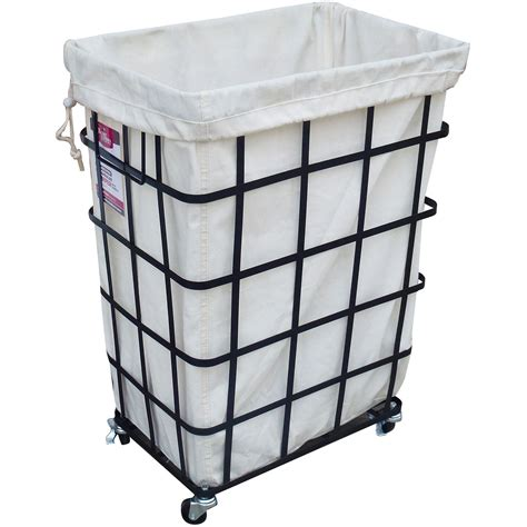 Diy Laundry Basket With Wheels