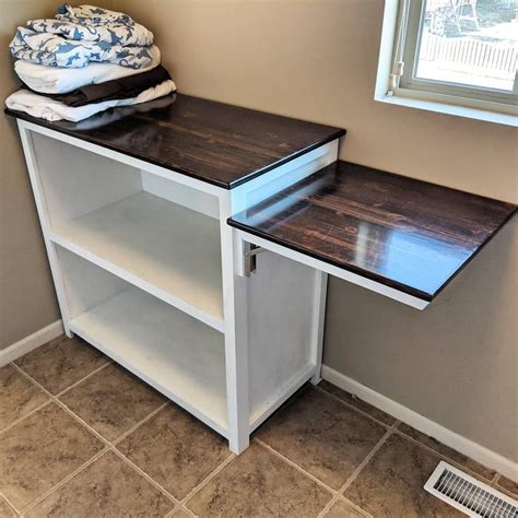 Diy Laundry Folding Station