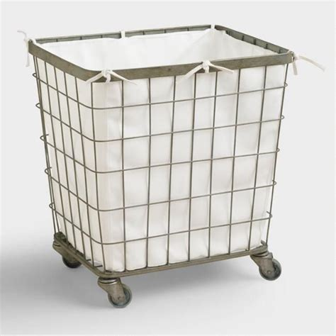 Diy Laundry Hamper With Wheels