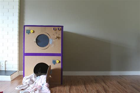 Diy Laundry Machines Out Of Boxes