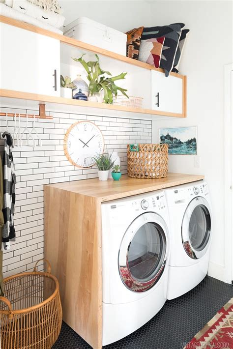 Diy Laundry Room Curtains
