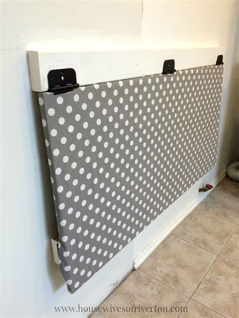 Diy Laundry Room Drop Down Folding Table