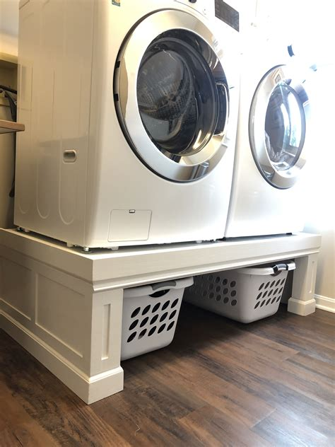 Diy Laundry Room Pedestals