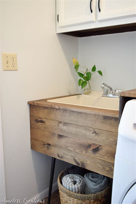 Diy Laundry Sink Cover