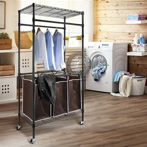 Diy Laundry Sorter Cart
