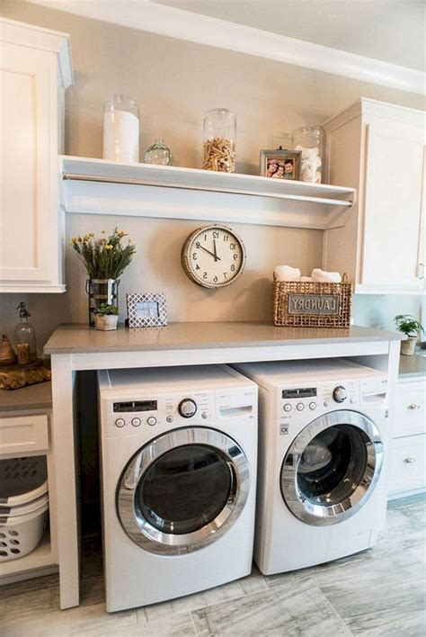 Diy Laundry Storage Shelves