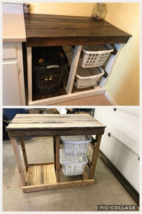 Diy Laundry Storage Tsvle