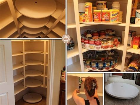Diy Lazy Susan Turntable For Pantry