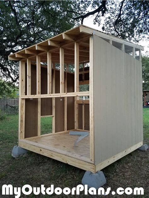 Diy Lean To Shed Style Coop