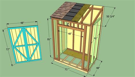Diy Lean To Shed Working Plans