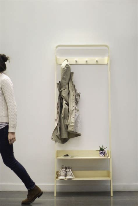 Diy Leaning Coat Rack