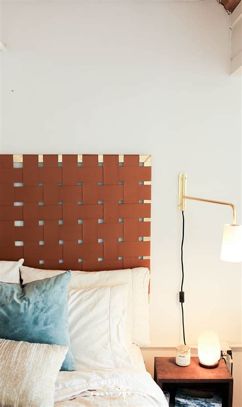 Diy Leather Headboard Makeovers