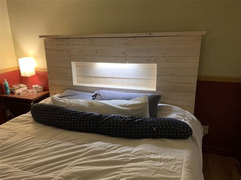 Diy Led Bed Headboard