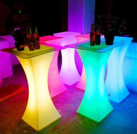 Diy Led Cocktail Table