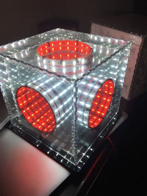 Diy Led Infinity Mirror Steps With Pictures