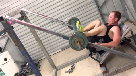 Diy Leg Press Machine Plans Pdf