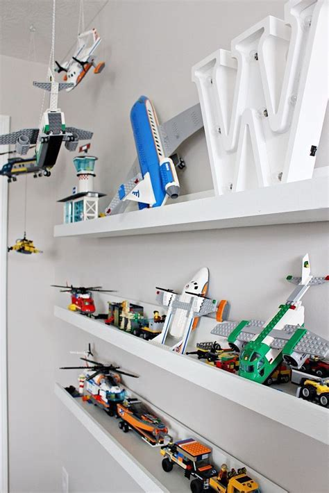 Diy Lego Display Shelves
