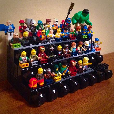 Diy Lego Minifigure Stand