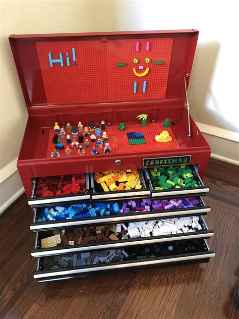 Diy Lego Storage Box