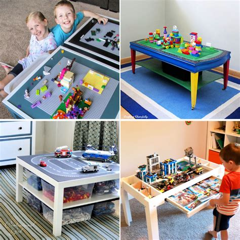 Diy Lego Table With Storage Instructions
