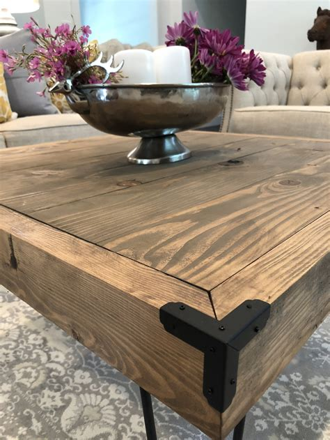 Diy Legs For Coffee Table