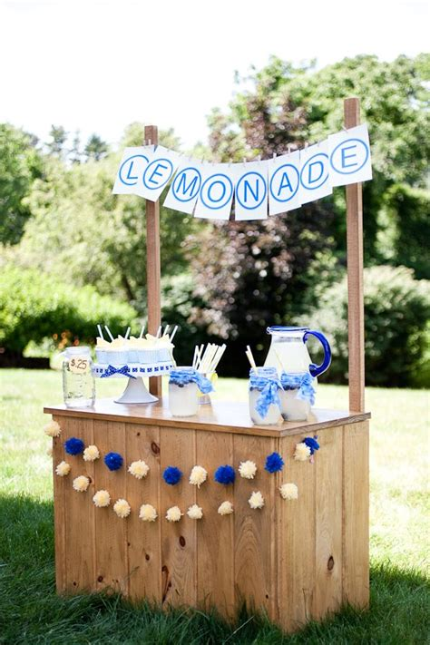 Diy Lemonade Stand For Adults Party