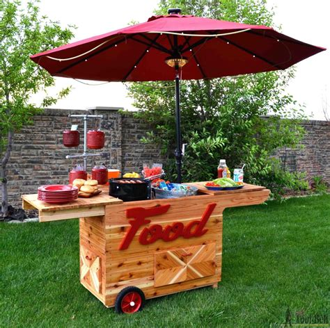 Diy Lemonade Stand On Wheels