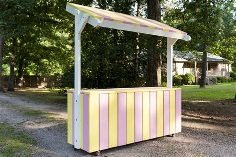 Diy Lemonade Stand Plans For Free