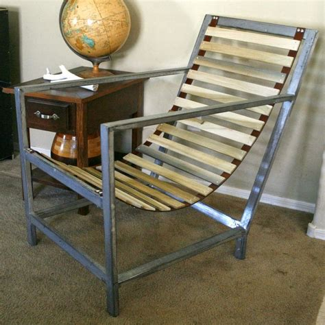 Diy Lether And Wood Chair
