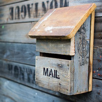 Diy Letter Box Wood