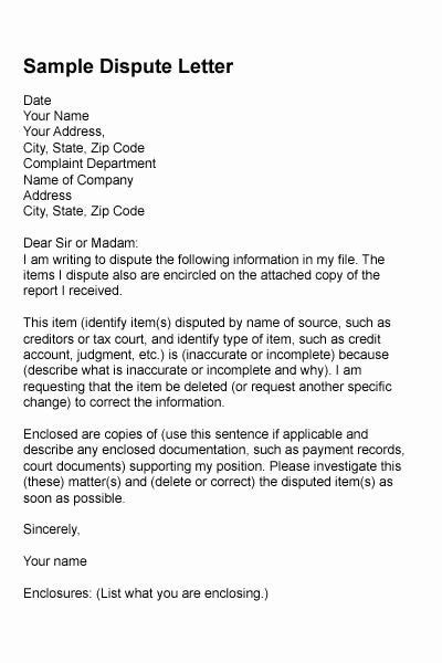 Diy Letters To Improve Credit Reports