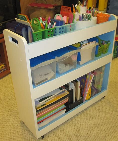 Diy Library Cart Ana White