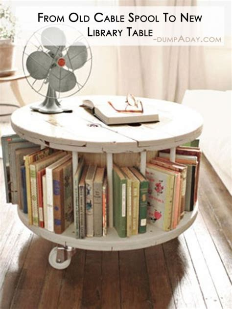 Diy Library Table