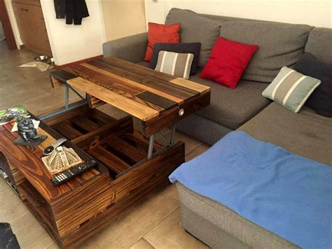 Diy Lift Up Top Coffee Table