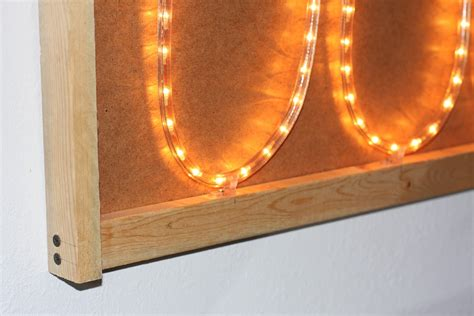 Diy Light Box Picture Frame