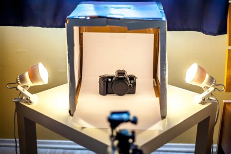 Diy Light Box Product Photography