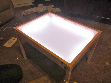 Diy Light Drawing Table