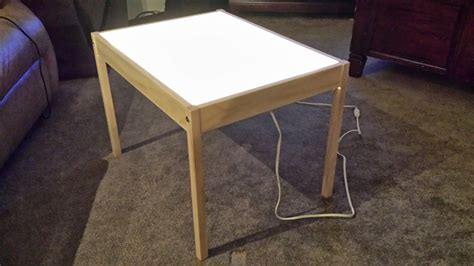 Diy Light Table Ikea