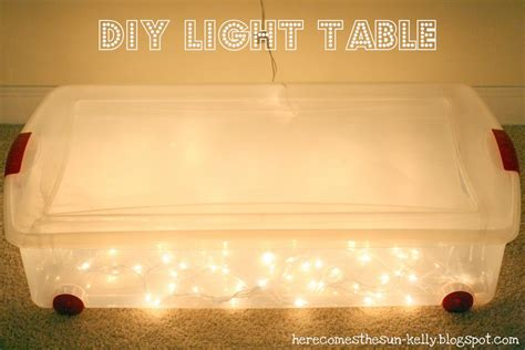 Diy Lighted Tracing Table For Kids