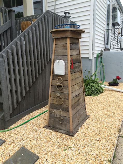 Diy Lighthouse Mailbox
