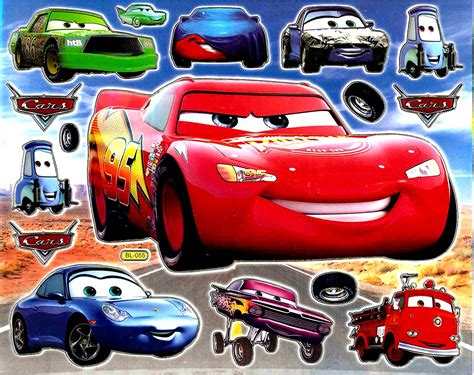 Diy Lightning Mcqueen Bed Decals