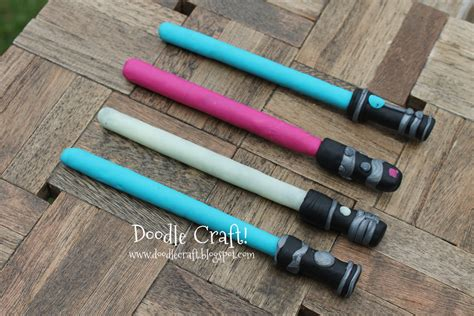 Diy Lightsaber Pencils